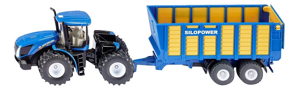 Купить Спецтехника Siku Трактор с прицепом, Строительная техника