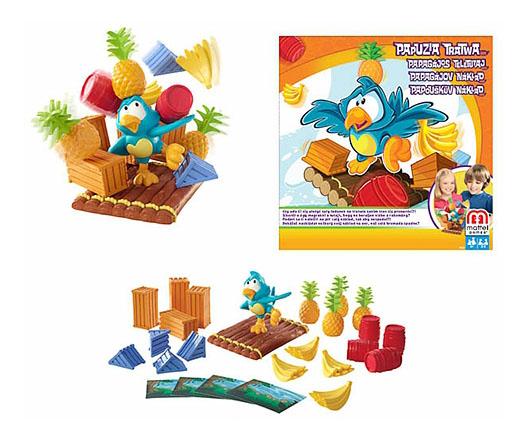 Настольная игра Mattel Попугай на плоту