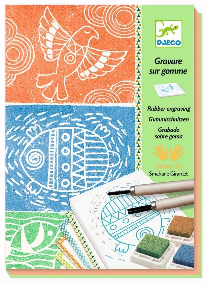 Купить Набор для творчества Djeco Изготовления штампов, Наборы для рисования