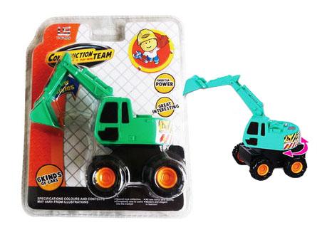 Купить Экскаватор Construction Team, Экскаватор Junfa Toys Construction Team 1108-4, Строительная техника