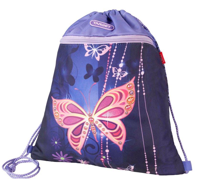 Купить Сумка для детской сменной обуви Золотая бабочка , Target, Мешки для обуви