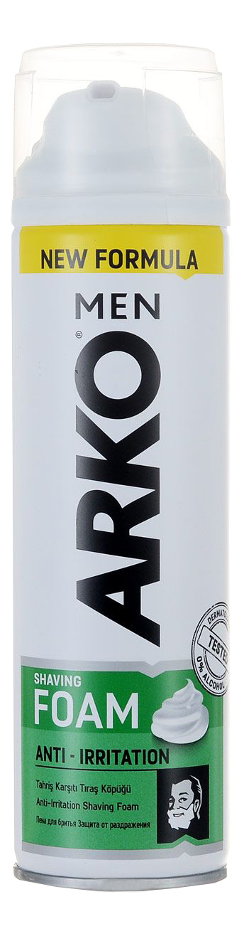 Пена для бритья ARKO Anti Irritation 200мл