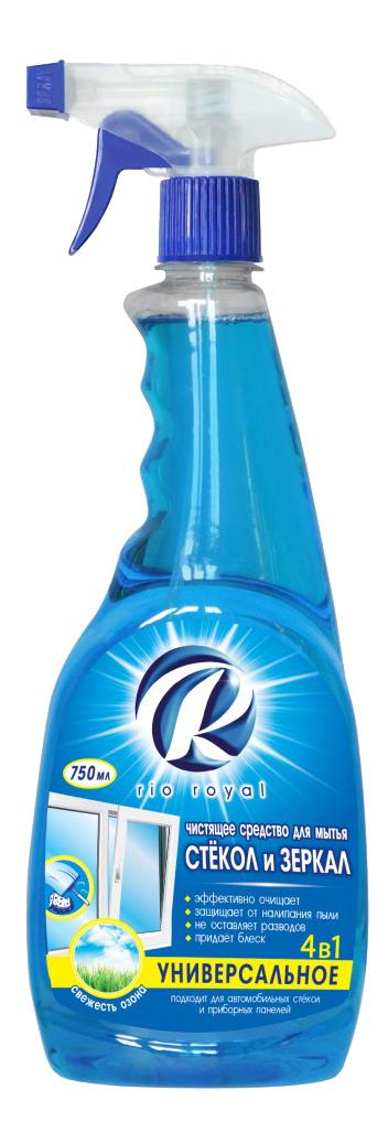 Чистящее средство Rio Royal для стекол и зеркал 750 мл