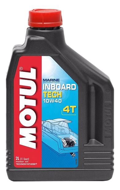 Моторное масло Motul Inboard Tech 4T 10W-40 2л 106417