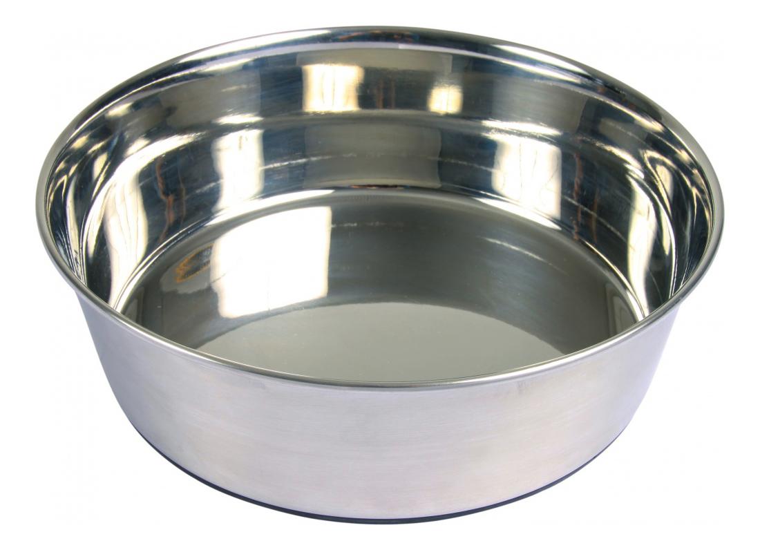 Одинарная миска для собак TRIXIE, резина, сталь,