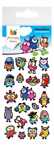 Наклейка декоративная для детской комнаты Липляндия Совы 3