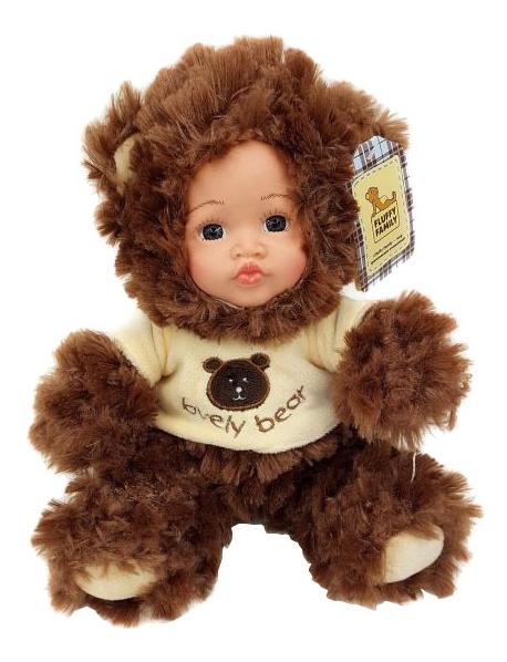 Кукла Fluffy Family Мой мишка фото
