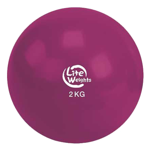 Медицинбол Lite Weights 2 кг 1702LW