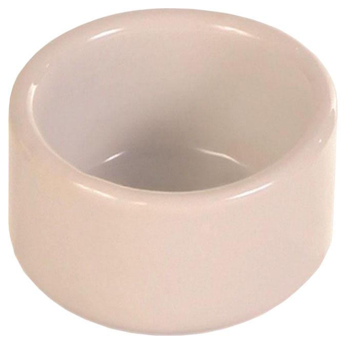 Одинарная миска для птиц TRIXIE, керамика, розовый,