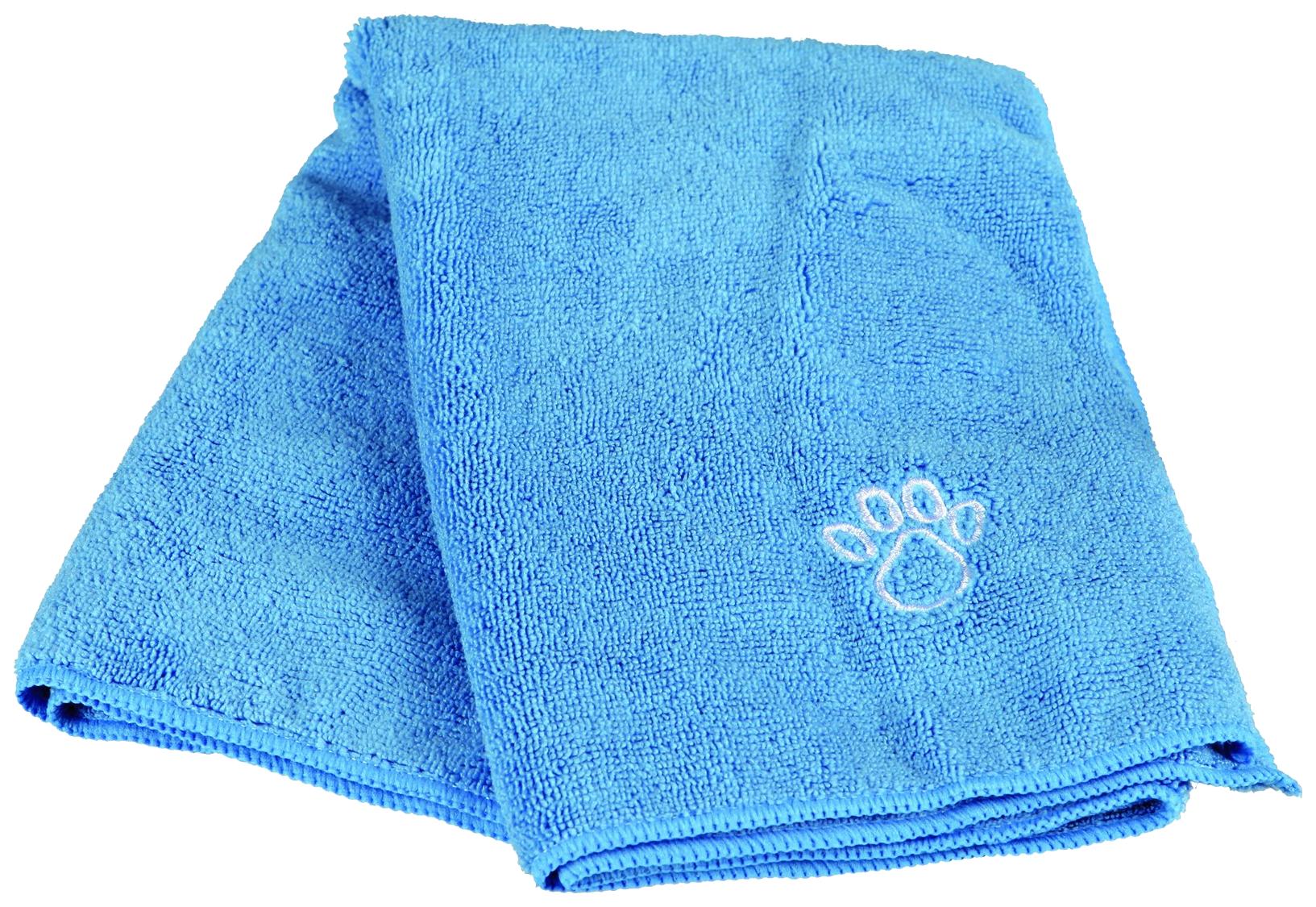 Полотенце для животных TRIXIE Microfibres Towel, микрофибра,