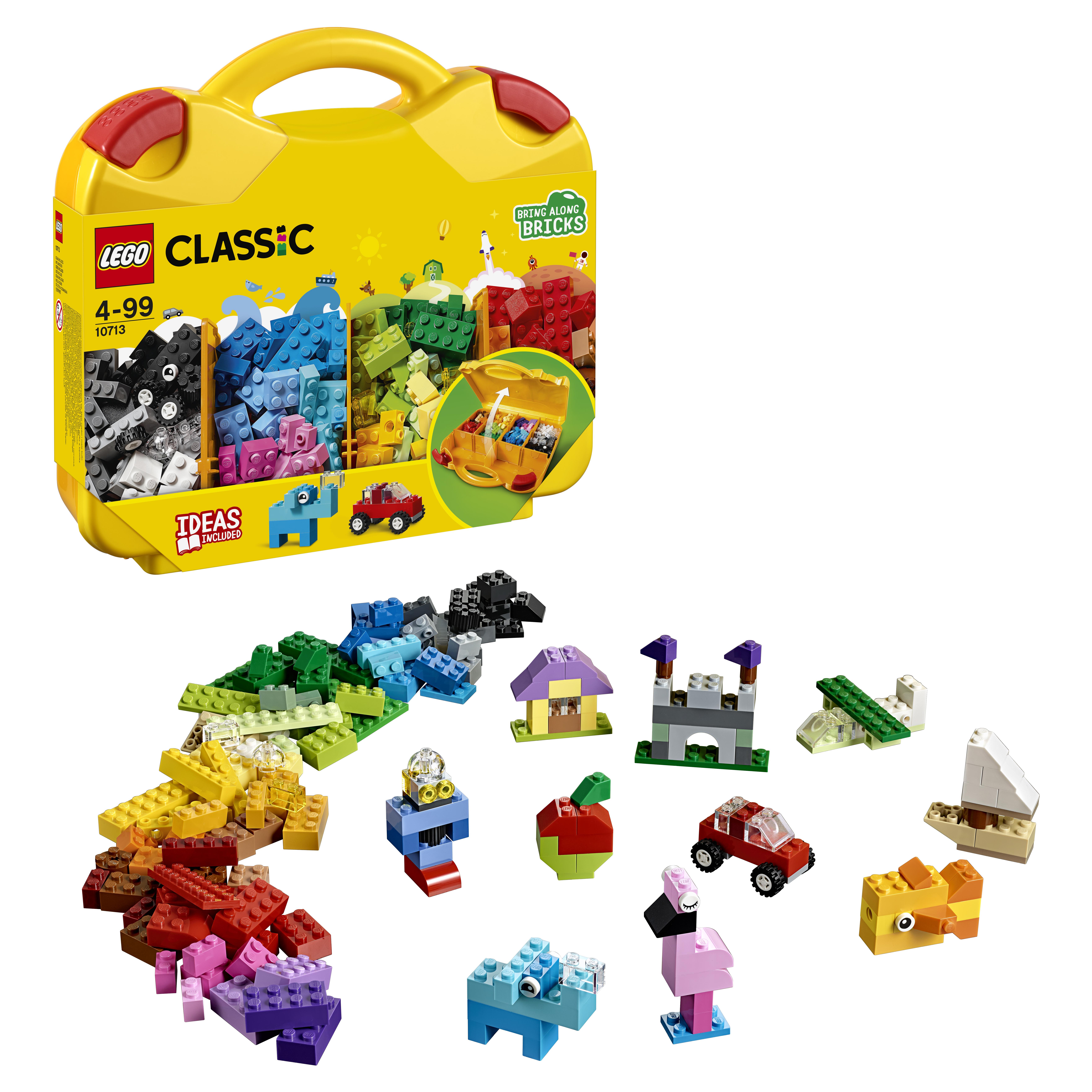 Конструктор LEGO Classic Чемоданчик для творчества и конструирования (10713) фото