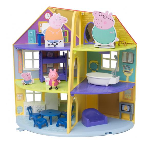 Игровой набор Свинка Пеппа Intertoy Трехэтажный дом пеппы фото