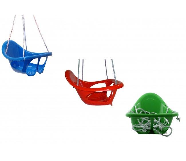 Купить Цельные подвесные качели Каролина 40-0009, Karolina Toys, Детские качели