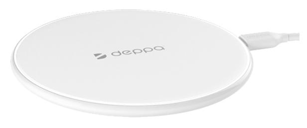 Беспроводное зарядное устройство Deppa Qi Fast Charger