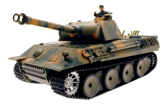 Купить Танк Panther, Радиоуправляемая военная техника Heng Long 3819-1, Радиоуправляемые танки