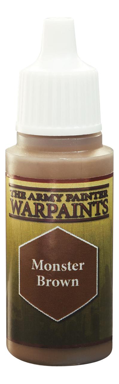 Краски для моделизма Army Painter Warpaints Monster Brown