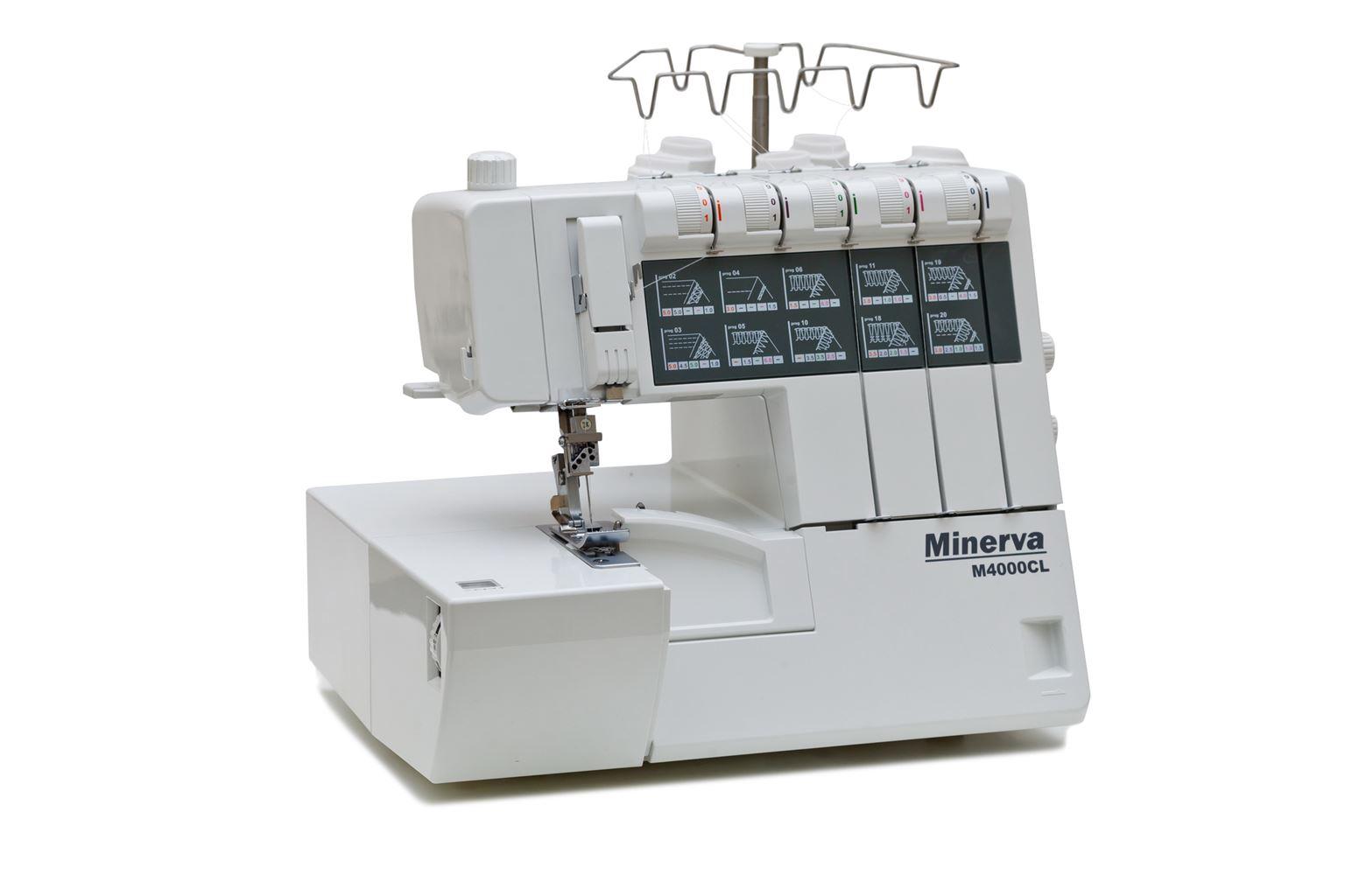 Коверлок Minerva M M4000CL