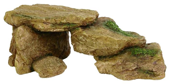 Грот для аквариума TRIXIE Rocks Камни, полиэфирная смола, 7,5х15,5х5,5 см фото
