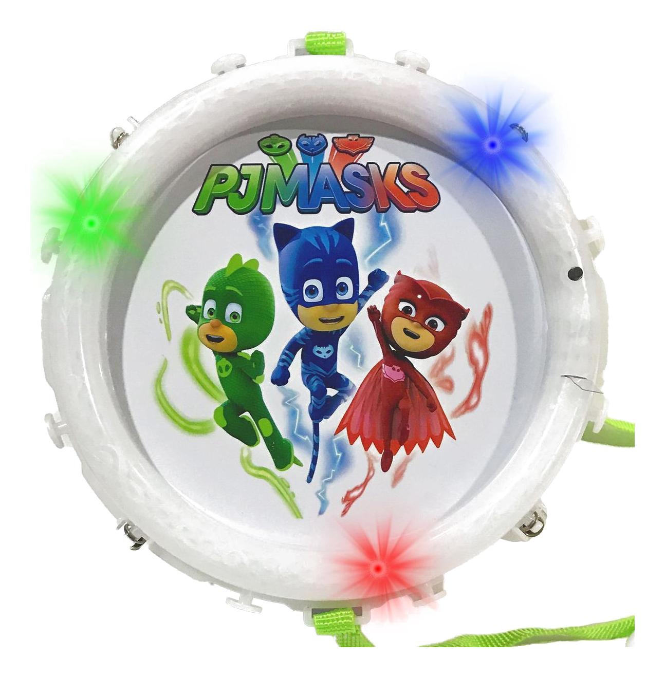 Купить Барабан Герои в масках. Барабан Intertoy 32691, Детские музыкальные инструменты