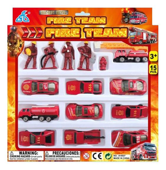 Купить Игровой набор Пожарная служба 15 предметов Gratwest А85828, Игровые наборы