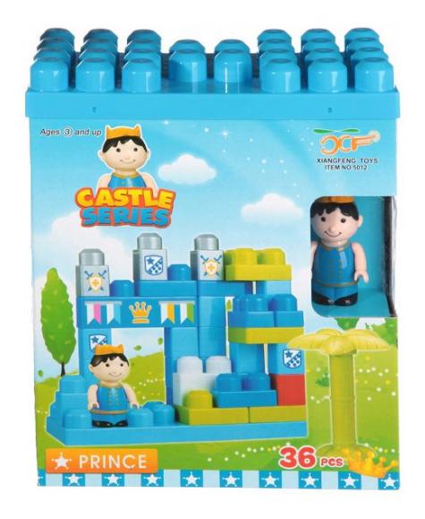 Детский конструктор Castle Series Prince 36 дет. Gratwest Г71389