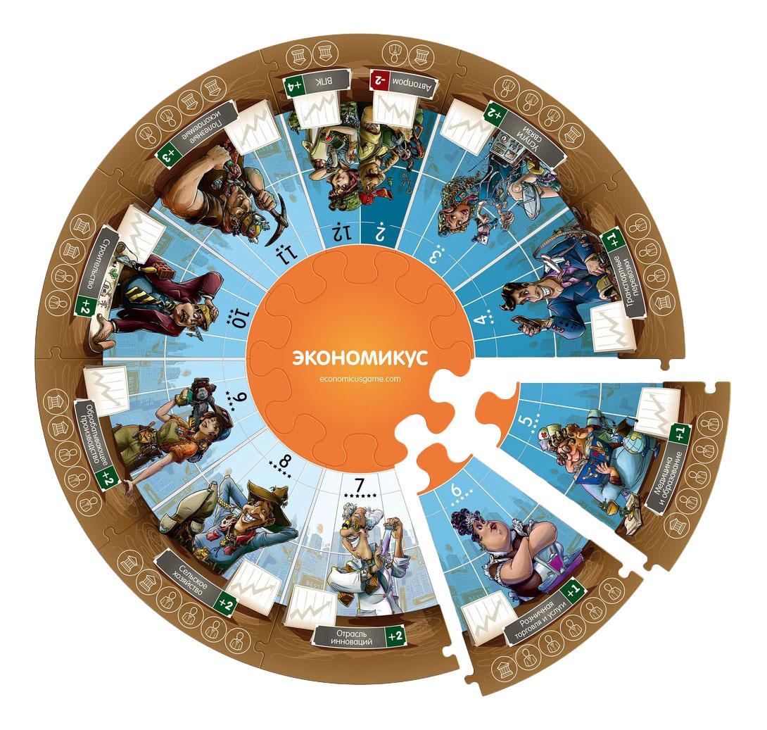Купить Настольная игра 2-е издание Экономикус Э001-2, Семейные настольные игры