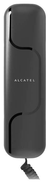 Телефон проводной Alcatel T06 Black