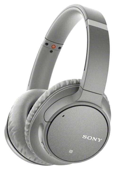 Беспроводные наушники Sony WH-CH700 Grey фото