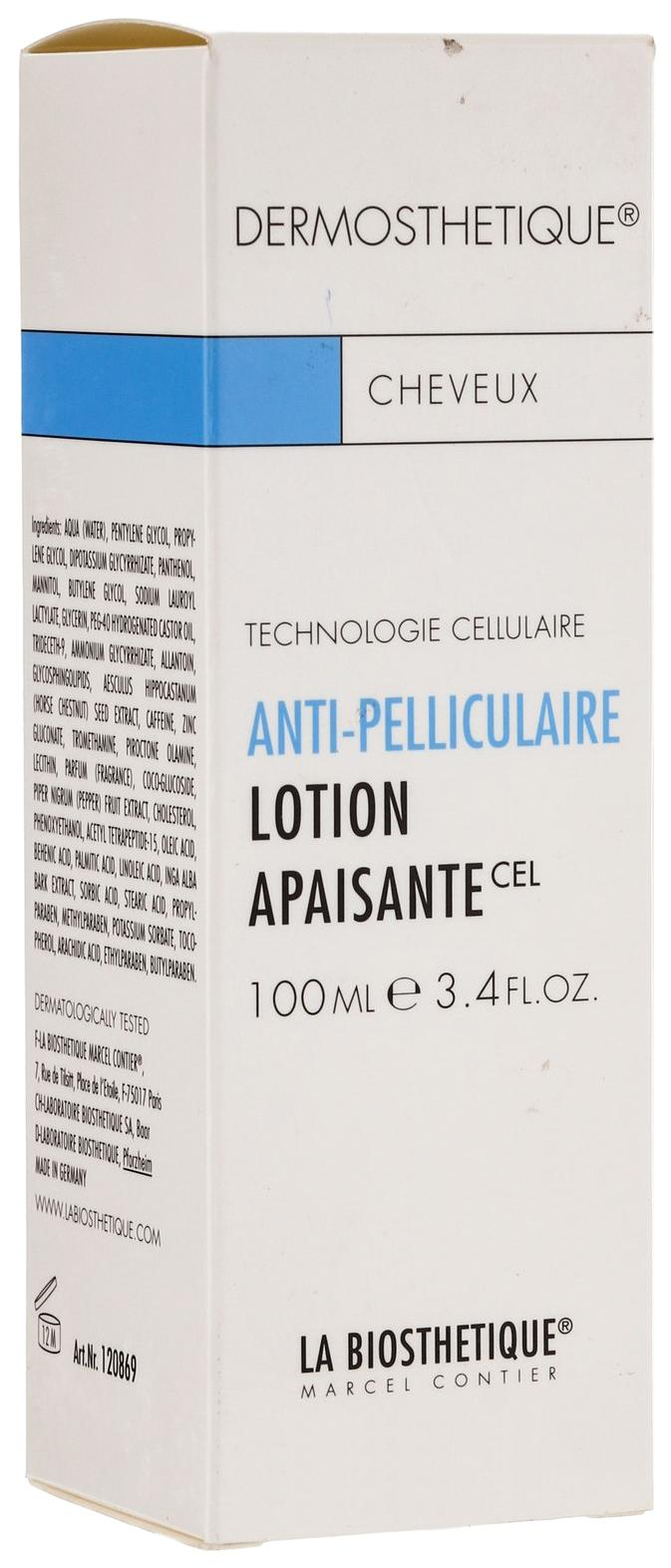 Купить Лосьон для волос La Biosthetique Lotion Apaisant против перхоти 100 мл, Lotion Apaisante против перхоти