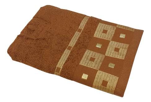 Полотенце универсальное Belezza коричневый