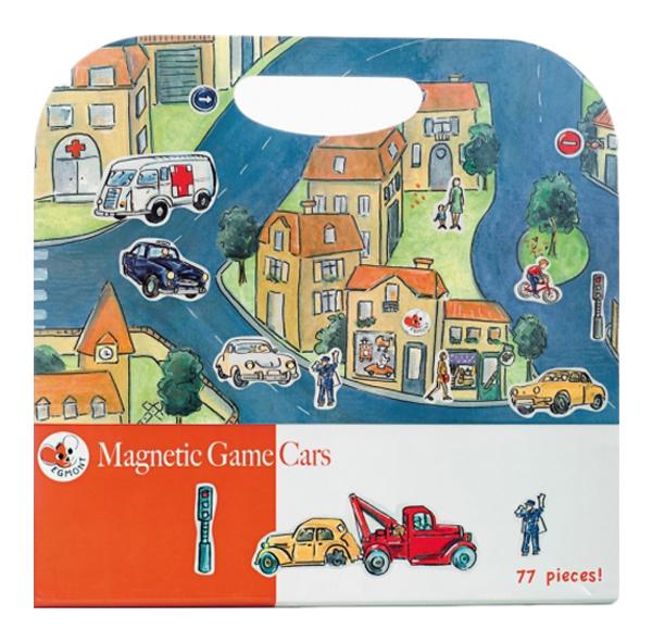 Купить Магнитная игра Egmont Toys Машинки, Семейные настольные игры