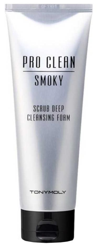 TONY MOLY PRO CLEAN SMOKY SCRUB DEEP CLEANSING FOAM