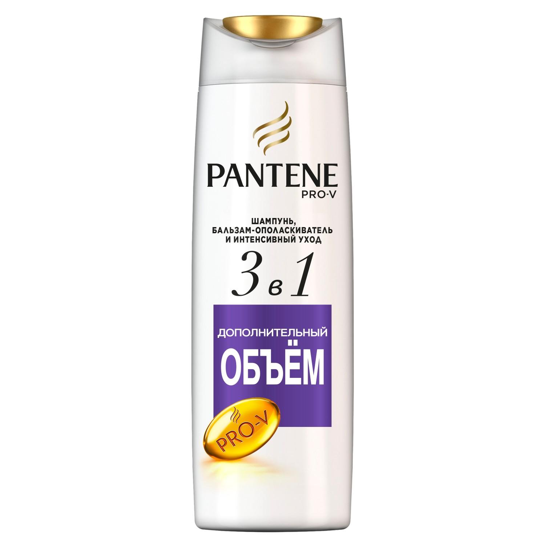 Шампунь PANTENE 3в1 Дополнительный объем 360 мл