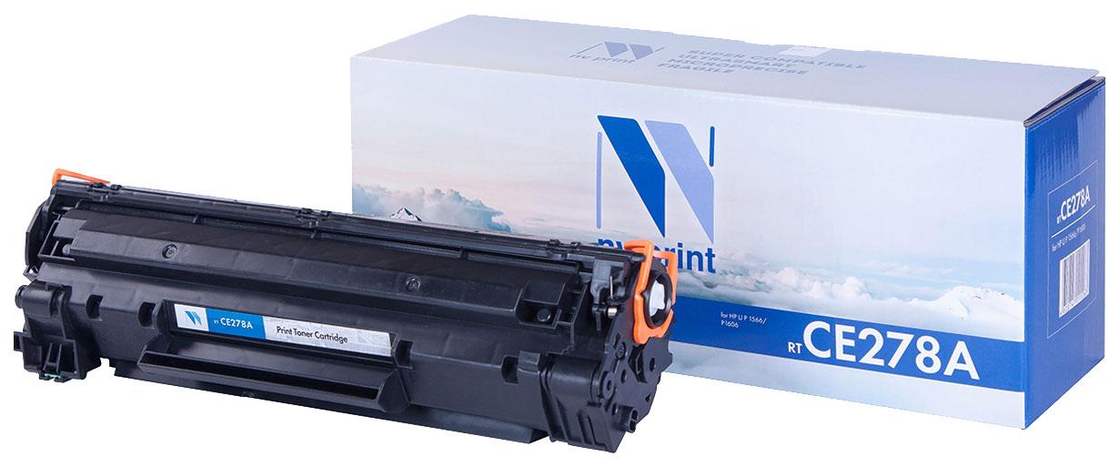 Картридж для лазерного принтера NV Print CE278A, черный NV-CE278A