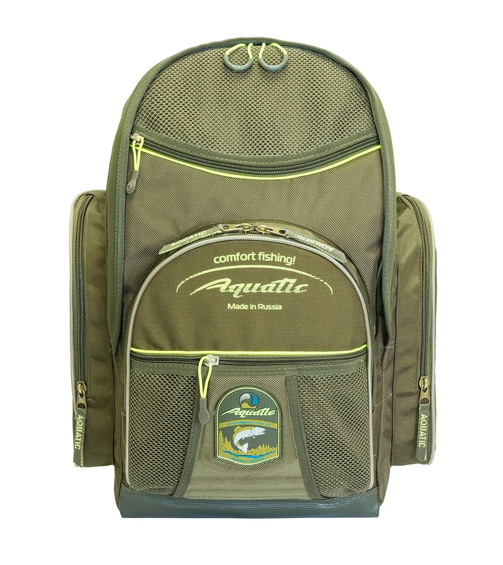 Рюкзак рыболовный Aquatic Р-33Х хаки 33 л фото