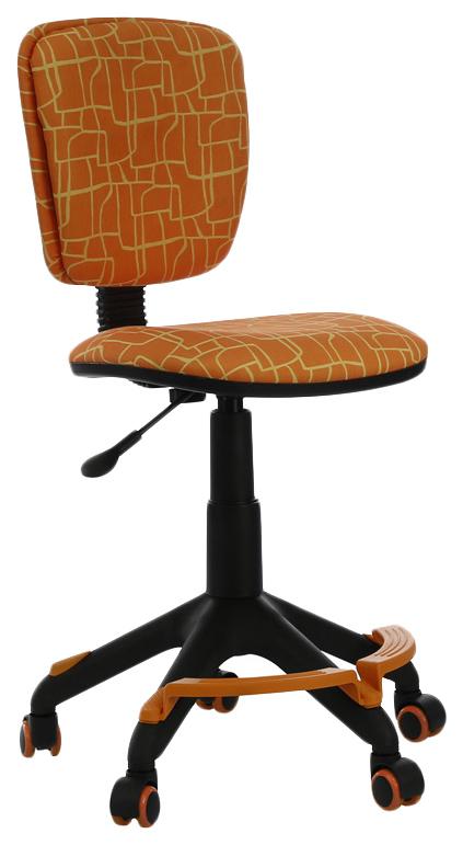 Купить Кресло компьютерное БЮРОКРАТ CH-204-F/GIRAFFE Оранжевый, Бюрократ, Детские стульчики