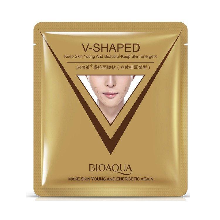 Маска для лица Bioaqua V-Shaped для коррекции овала лица