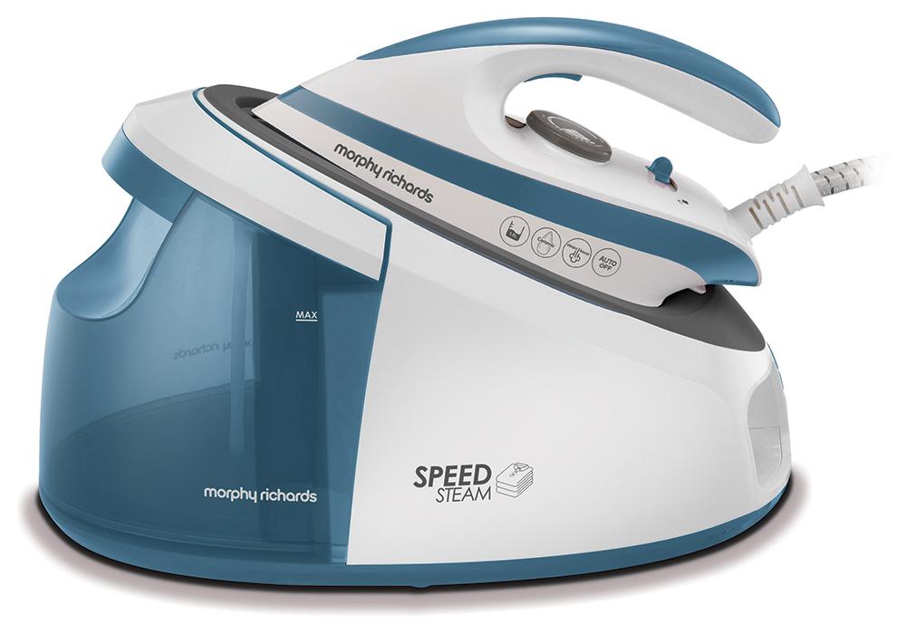 Парогенератор Morphy Richards Speed Steam White/Blue фото