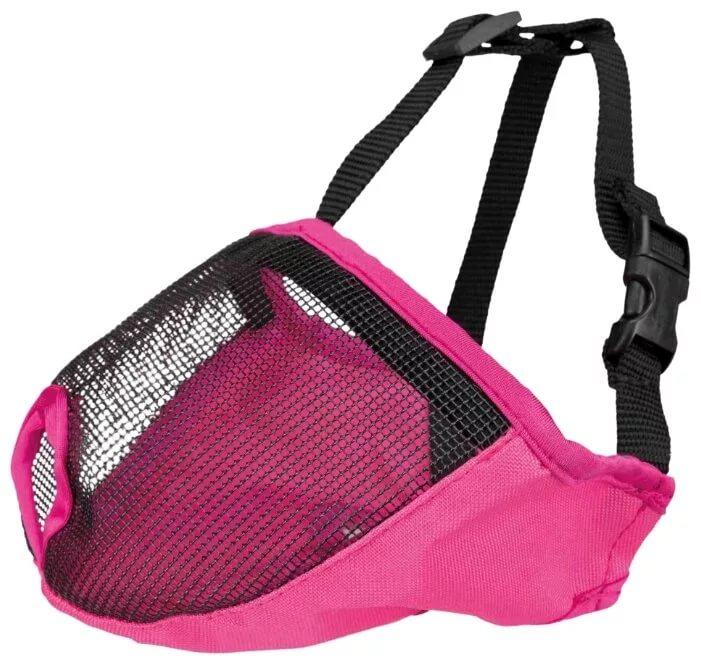 Намордник для короткомордых пород Trixie (розовый),
