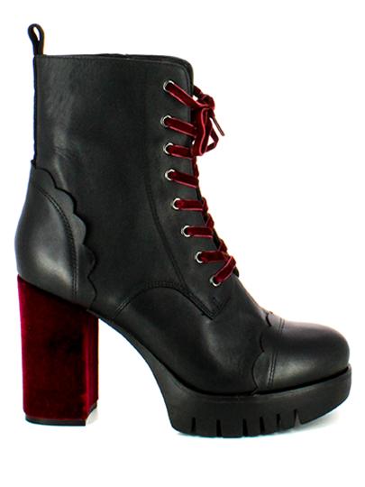 Ботильоны женские Fornarina черные