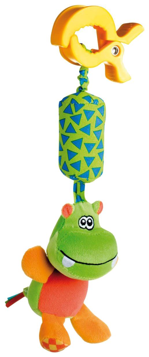 CANPOL Игрушка мягкая подвесная с погремушкой Бегемот 250989104 фото