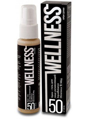 Крем-гель для лица Ambrella Wellness увлажняющий Облепиха #and# Мед 50мл