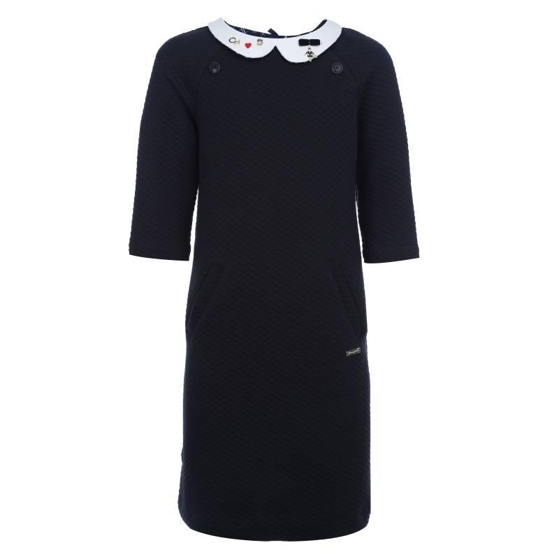 Купить Платье Choupette, цв. темно-синий, 158 р-р, Детские платья и сарафаны