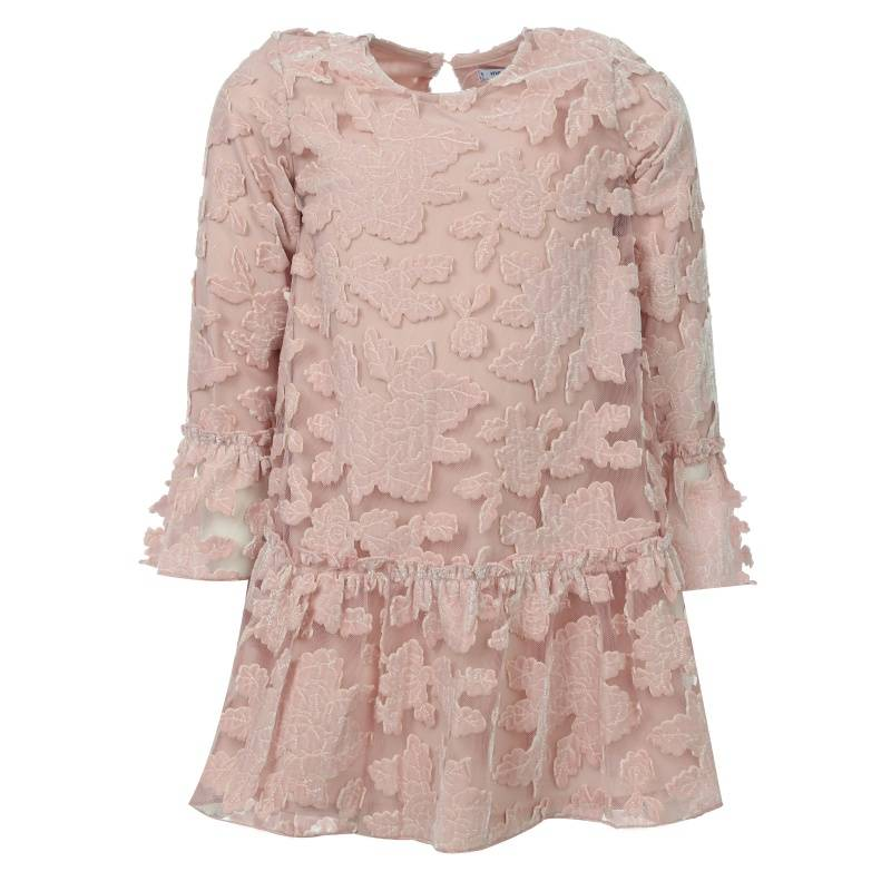 Купить 4918/32, Платье MAYORAL, цв. розовый, 128 р-р, Детские платья и сарафаны