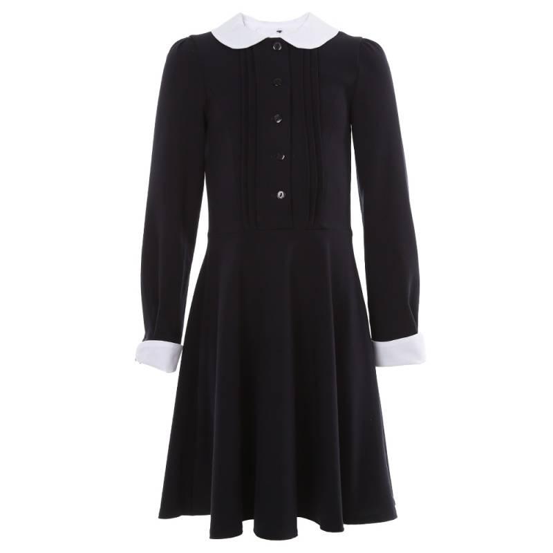 Купить ШФ-1026, Платье SkyLake, цв. темно-синий, 140 р-р, Платья для девочек