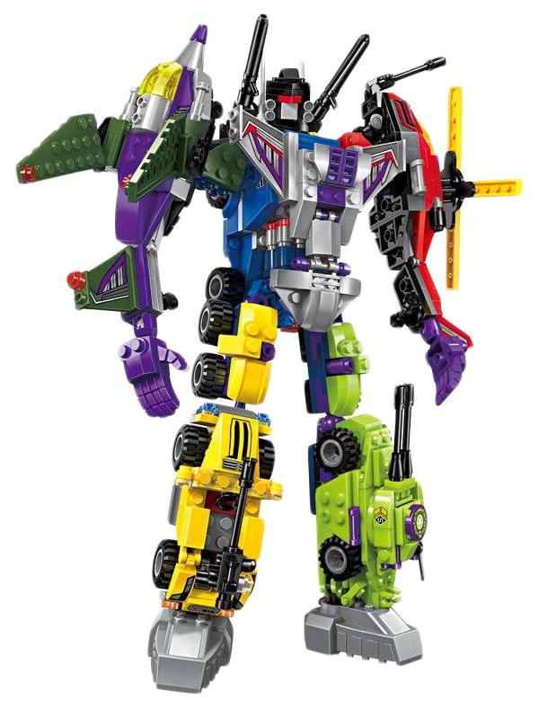 Купить Набор конструкторов Робот-трансформер (6 штук) (количество товаров в комплекте: 6), Brick, Конструкторы пластмассовые