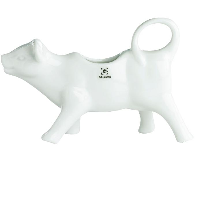 Молочник соусник фарфоровый Коровка Galzone