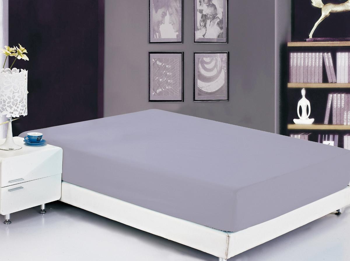 Простыня на резинке Valtery 160x200 см белый Простынь на резинке Софткоттон (PRMF-20) 160x200, (высота-20 см) по цене 920