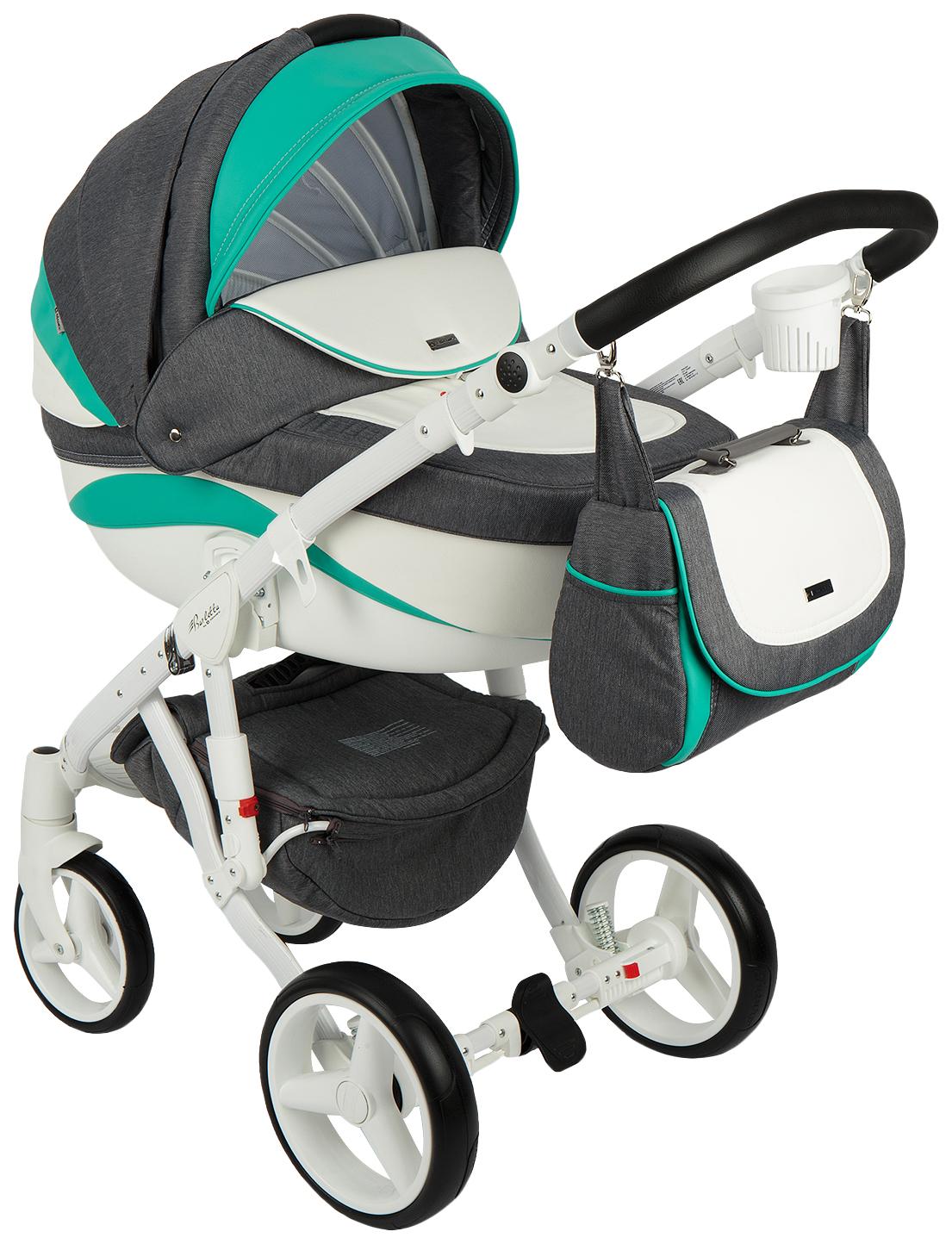 Купить Коляска 2 в 1 Adamex Barletta New B-20, Детские коляски 2 в 1