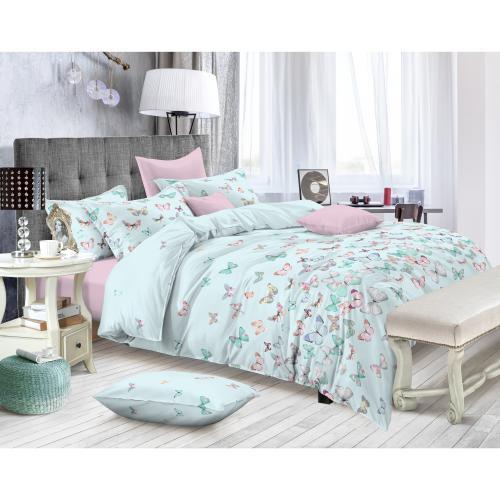 Комплект постельного белья двуспальный Amore Mio, Waltz, узор